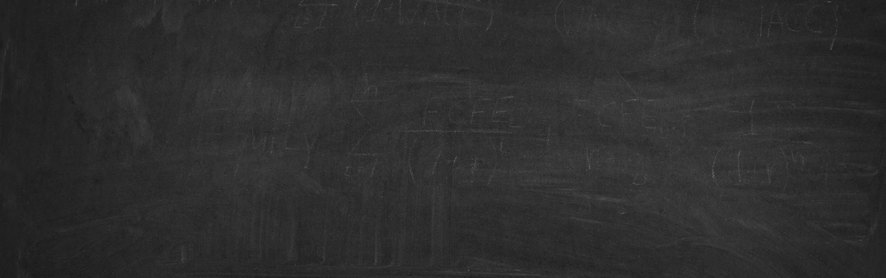 black blackboard